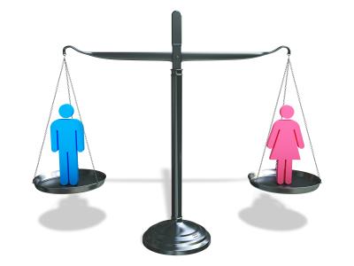 ميزان الرجل والمرأة